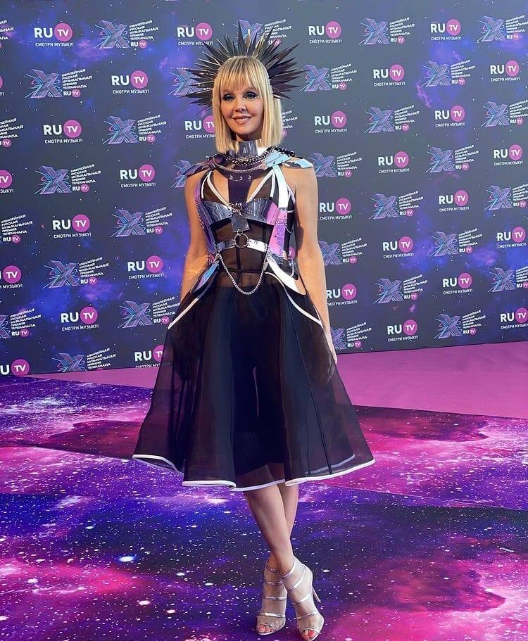 Певица Валерия на премии RU.TV 2021