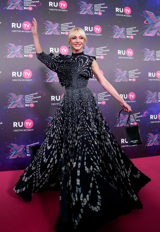 Кристина Орбакайте на премии RU.TV 2021