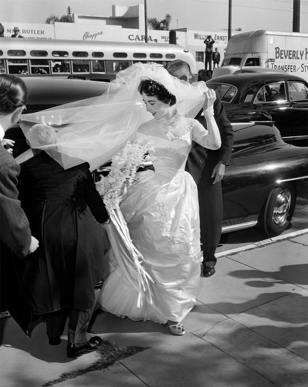 Свадебное платье Элизабет Тейлор