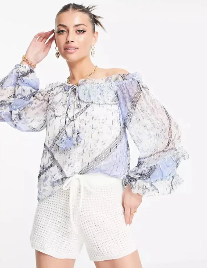 Блузка в стиле бохо от River Island
