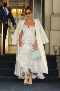 Леди Гага в поездке в Нью-Йорк