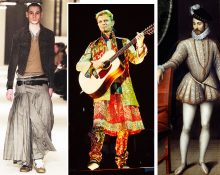 Юбки в гардеробе мужчин