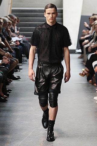 Гибкая мужская мода