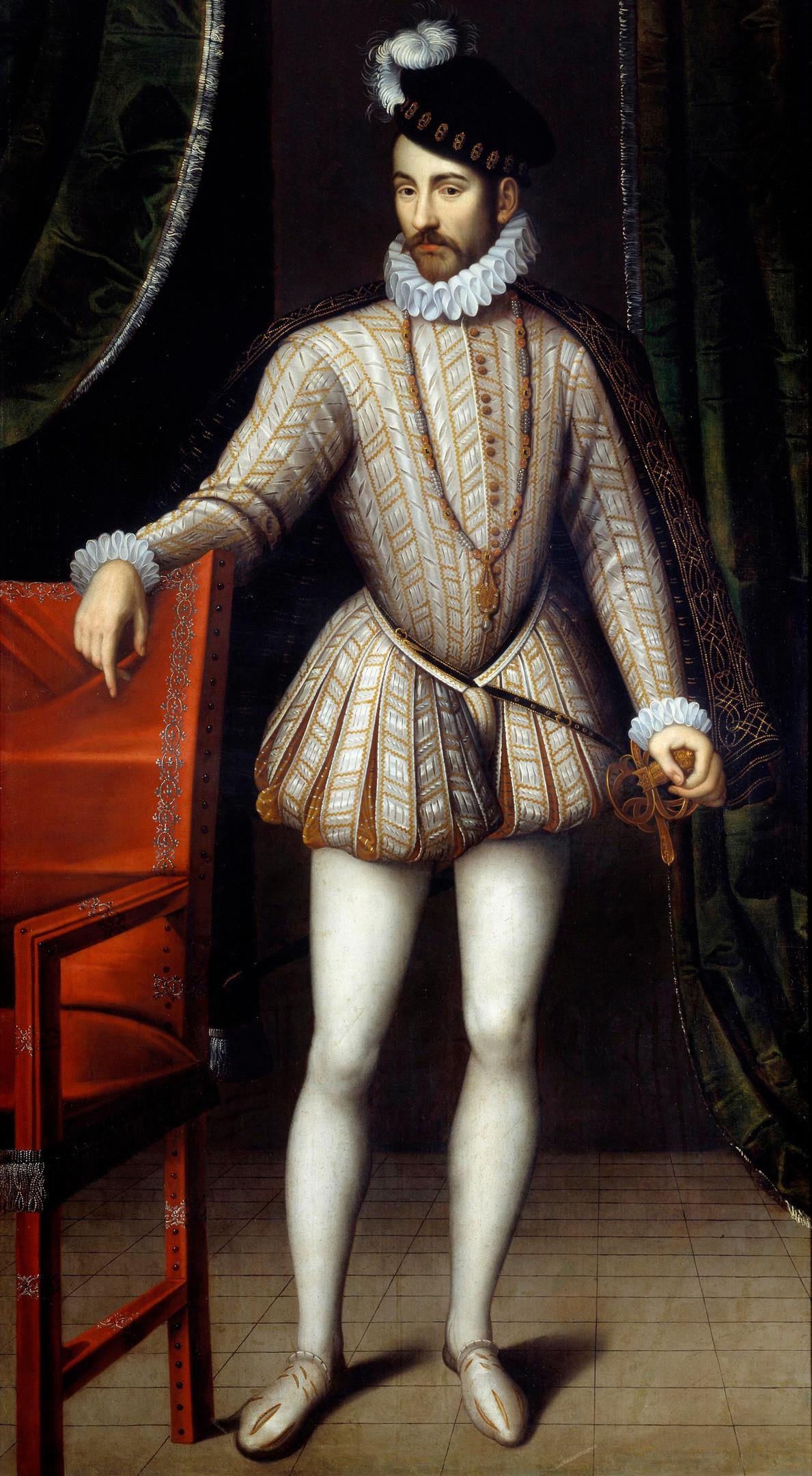 Мужской костюм эпохи Возрождения