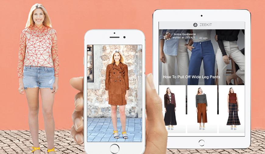 Онлайн примерка одежды