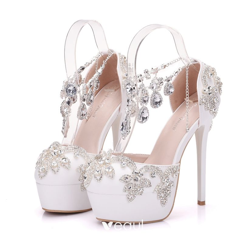 sparkly-white-wedding-shoes