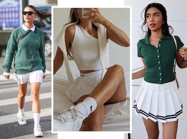 Образы с теннисной юбкой